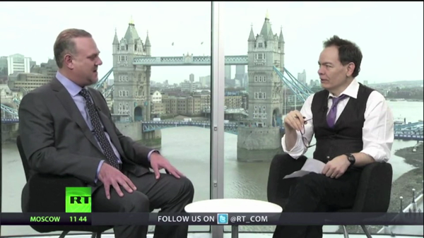 Keiser Report Interview - Dr. Christos Vlachos